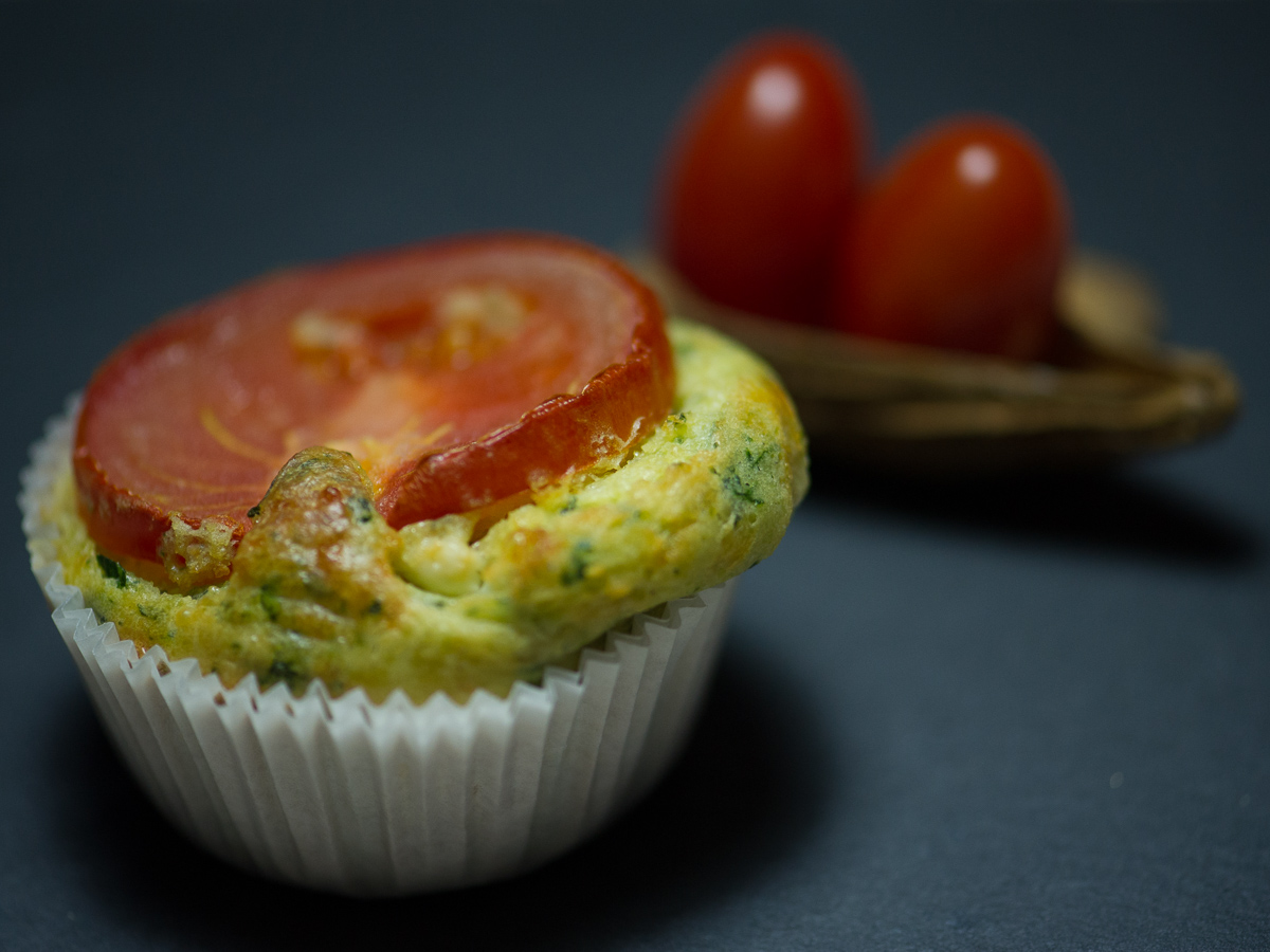 Spinat-Feta-Muffin